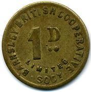 1 Penny - Barnsley British CSL (Yorkshire) – reverse