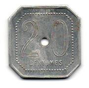 20 Centimes - Chocolat Menier (Noisiel) – reverse