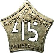 45 Öre - Stockholms Ångslups Aktiebolag – obverse