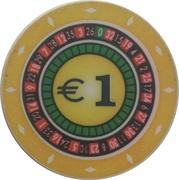 1 Euro - Casino Hit Kristal (Umag) – obverse