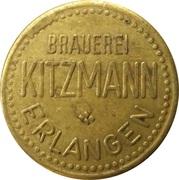 Beer Token - Brauerei Kitzmann (Erlangen) – obverse