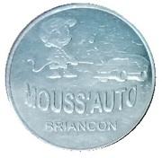 Car Wash Token - Mouss'Auto (Briançon) – obverse