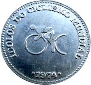 Token - Idolos do Ciclismo Mundial (Bernard Thevenet) – reverse