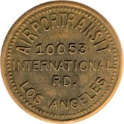 25 Cents - Airportransit (Los Angeles, California) – obverse