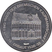 Token - Bremen (Marktplatz) – reverse