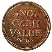 Token - No Cash Value (Planet) – reverse