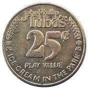 25 Cents - John Phillip Tuba's – obverse
