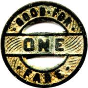1 Fare - Key System (Oakland, California) – reverse
