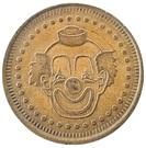 Token - No Cash Value (Clown; 25 mm) – obverse