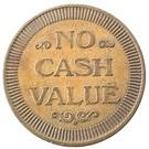 Token - No Cash Value (Clown; 25 mm) – reverse