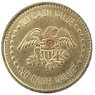 Token - No Cash Value (Clown and Eagle) – reverse