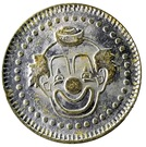 Token - No Cash Value (Clown; 22.9 mm) – obverse