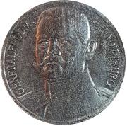 Kriegsspielmarke (von Hindenburg) – obverse