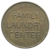 Token - Family Laundry Center – obverse