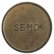 Token - SEMO (Saigon Enlisted Mess Open) – reverse