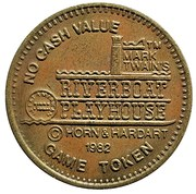 Game Token - Riverboat Playhouse (Daniel and the Dixie Diggers) – obverse