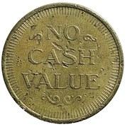 Token - No Cash Value (Sonic the Hedgehog) – reverse