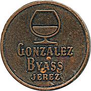 Token - Gonzalez Byass Jerez (Soberano Brandy) – obverse