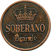 Token - Gonzalez Byass Jerez (Soberano Brandy) – reverse