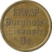 Car Wash Token - ISWAP Burgholz-Eisenstr. (Dortmund) – obverse