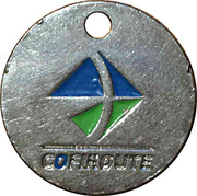 Shopping Cart Token - Cofiroute – obverse