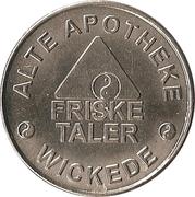 Friske Taler - Alte Apotheke & Markt Apotheke (Wickede, Geseke) – obverse