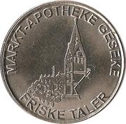 Friske Taler - Alte Apotheke & Markt Apotheke (Wickede, Geseke) – reverse