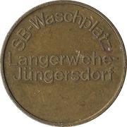Car Wash Token - SB-Waschplatz (Langerwehe-Jüngersdorf) – obverse