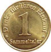 1 Sammeltaler - Neuenheimer Apotheke (Heidelberg) – reverse