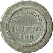 Game Token - Sala Giochi Bim Bum Bam (Rimini) – obverse