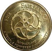 3 Dollars - Fairbuck (Fairfax, California) – obverse