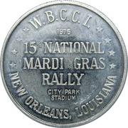 Mardi Gras Token - Krewe Of The Silver Circle (New Orleans) – reverse