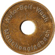 Car Wash Token - Auto-Self-Wash (Mönchengladbach) – obverse