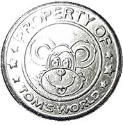 Token - Tom's World – obverse