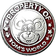 Token - Tom's World (red ring) – obverse