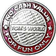 Token - Tom's World (red ring) – reverse