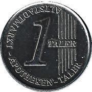 1 Taler - Altstadtmarkt Apoteken & Hagenmarkt Apoteken – obverse
