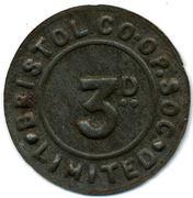3 Pence - Bristol CSL (Gloucestershire) – obverse