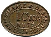 1 Cwt Nuts - Burbage & District Ind CSL (Leicestershire) – obverse