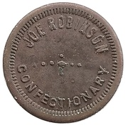 5 Cent - Robinson Confectionary – obverse