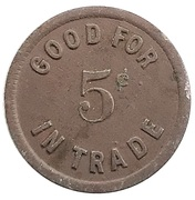5 Cent - Robinson Confectionary – reverse