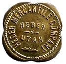 10 Cents - Heber Mercantile Company – obverse