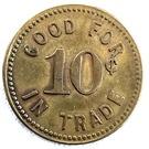 10 Cents - Sharpe's – reverse