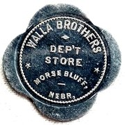 5 Dollars - Walla Brothers Dept Store – obverse