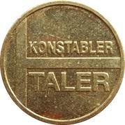 Konstabler Taler – reverse