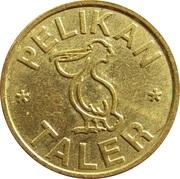 Pelikan Taler - Pelikan Apotheke (Mülheim) – reverse