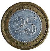 25 Cents - W. V. Shipley & Co. (Iowa Falls, Iowa) – obverse