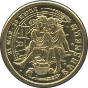 1 Lucky Ruble (Gemini) – obverse
