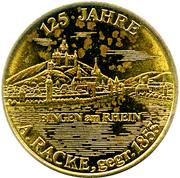 Token - Bingen am Rhein (Adam Josef Racke) – obverse