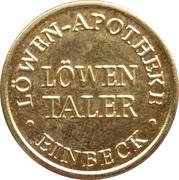 Löwen Taler - Löwen Apotheke (Einbeck) – obverse